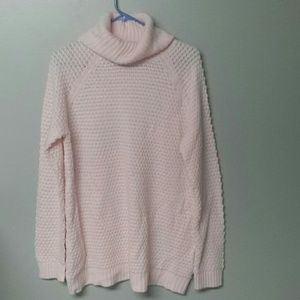 NWOT PRETTY PALE PINK SWEATER